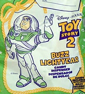 TOY Story 2 ~ McDonalds - BUZZ LIGHTYEAR Candy Dispenser