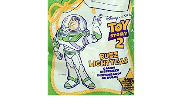 Amazon.com: TOY Story 2 ~ McDonalds - BUZZ LIGHTYEAR Candy Dispenser: Toys & Games