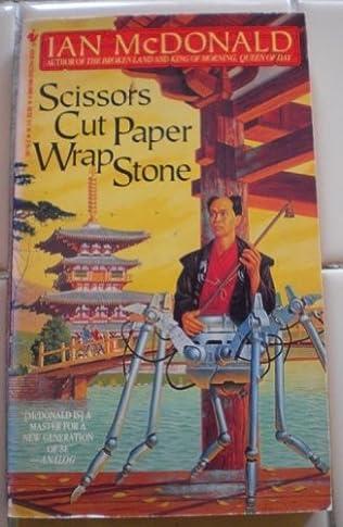 book cover of Scissors Cut Paper Wrap Stone
