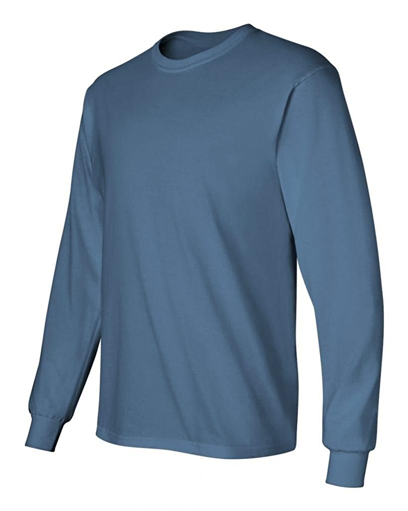 7b7d6eb670e Gildan Men s Ultra Long Sleeve Rib-Knit Cuffs T-Shirt