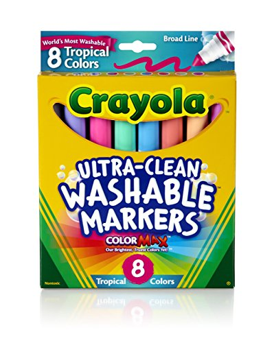 Crayola Washable Tropical Colors Conical