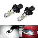 audi a4 b8 headlight bulbs - iJDMTOY (2) Xenon White Error Free PH24WY SPH24 12272 LED Bulbs For Audi Cadillac GMC,etc For Front Turn Signal Lights