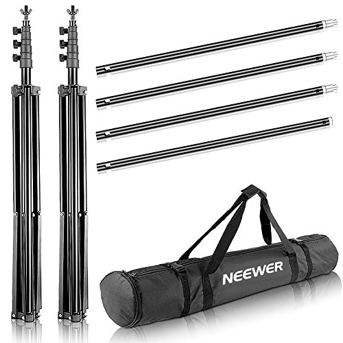 Neewer Photo Video Studio Adjustable Background Stand Backdrop Support System 10x12 feet/3x3.6 Meters and Carrying Bag for Photography (Backdrop Not Included) by Neewer (Image #1)