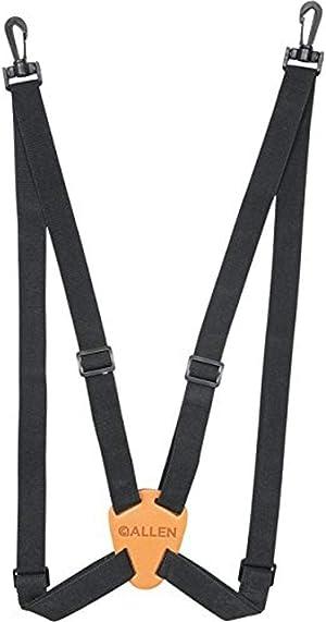 Allen Company 4 Way Adjustable Deluxe Binocular Strap, Black, Multi, One Size (199)
