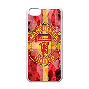 Language still DIY Case Manchester United For iPhone 5C QQW773282