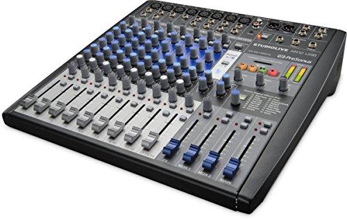 PreSonus StudioLive AR12 USB 14-Channel hybrid Performance and Recording Mixer ()
