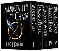 Immortality And Chaos Complete Box Set: An Epic Fantasy Series by Eric T Knight ebook deal