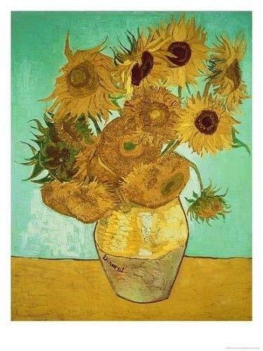 Van Wooden - Wentworth Vincient Van Gogh Sunflower Wooden 250 Piece Jigsaw Puzzle
