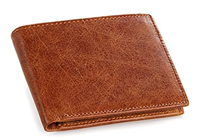 DRF Men's Bifold Wallet Short Mens Wallet Fathers Day Gift Ideas From Daughter Son Wife Bg56