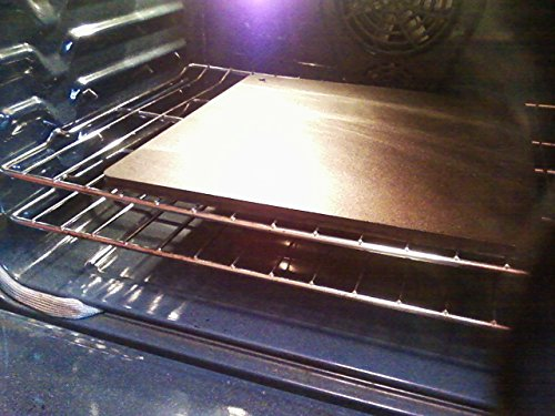 Dough-Joe Pizza Steel Baking Sheet--The Emperor™--15'' x 15'' x 1/2'' by Falls Culinary, Inc