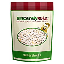 Sincerely Nuts White Chickpeas (Garbanzo Beans) Unsalted 1 Lb