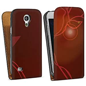 Diseño para Samsung Galaxy S4 Mini I9195 DesignTasche Downflip black - Red Mood
