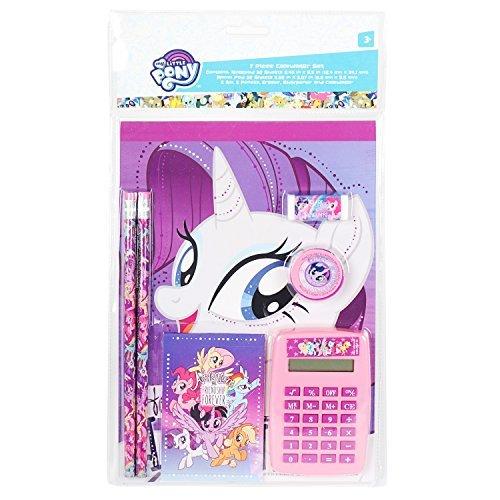 my little pony 7piezas divertido calculadora Juego vuelta al cole para niñas
