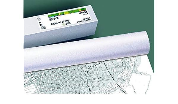 Apli 016090 Bobina de papel de inyección de tinta 620 mm x 175 m ...