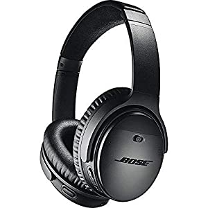 Bose QuietComfort 35 (Series II) Wireless Headphones, Noise Cancelling – Black (Renewed)