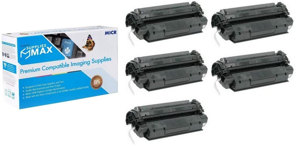 5//PK-2500 Page Yield Type X25 SuppliesMAX Compatible MICR Replacement for Canon IC-MF-3110//3220//3240//5500//5730//5750//5770 Toner Cartridge X25/_5PK