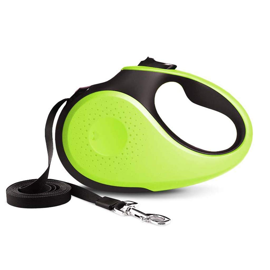 Pet grocery store Automatic Telescopic Traction Ropedog Retractable Leads Dog Walking Training Dog Belt Non-Slip Handle Mechanical Interior,Greens by Pet grocery store (Image #1)