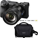 Sony ILCE-6500 a6500 4K Mirrorless Camera Body w/APS-C Sensor (Black) + 35mm f/2.8 Rokinon Prime Lens Bundle Zeiss Vario-Tessar 16-70 F4 Lens Kit