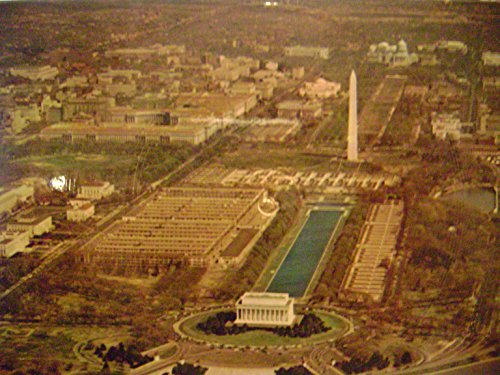 Talking Postcard Aerial View Of Washington (Liberty Bell March) Long Play
