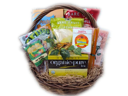 Seasonal Allergy Relief Healthy Gift Basket by Well Baskets