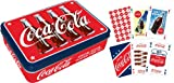 Aquarius Coca Cola Playing Card Gift Tin
