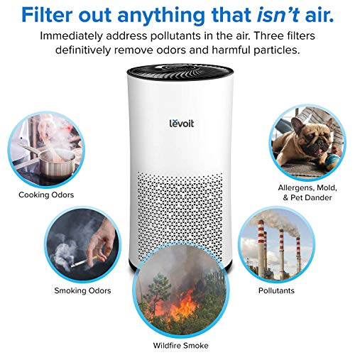 Levoit Air Purifier Quite Air Cleaner With True Hepa
