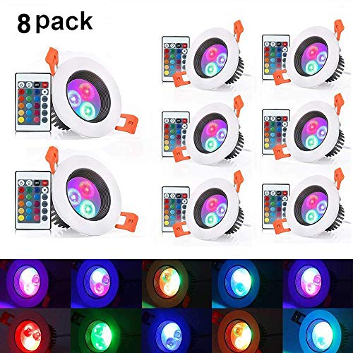 5 Watt Color Changing Led Lights in US - 6