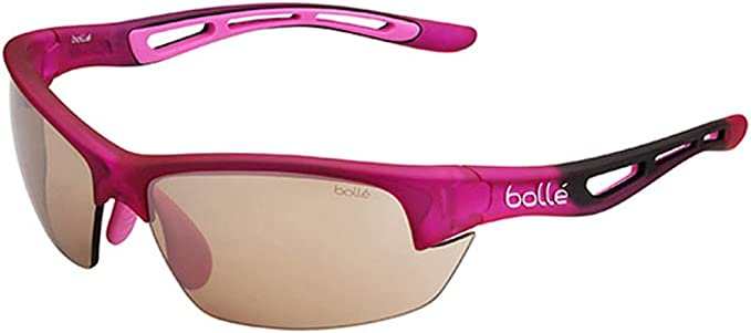 Bolle Bolt S Photo V3 Golf Sunglasses, Pink