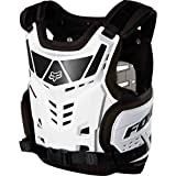 Fox Racing Raptor Proframe LC Youth Roost Deflector Off-Road Motorcycle Body Armor - White/One Size