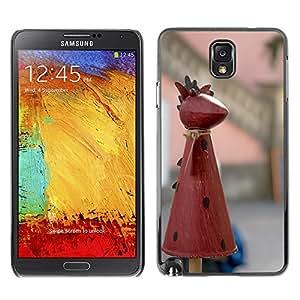Etui Housse Coque de Protection Cover Rigide pour // M00113288 Artículos decorativos Diablo Jardín // Samsung Galaxy Note 3 III N9000 N9002 N9005