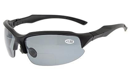 Dice Sport Occhiali da sole occhiali UV 400protezione per uomo e donna, dark grey mat/green