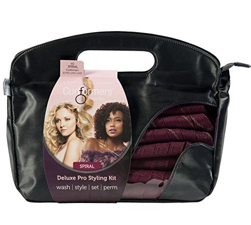 Curlformers Deluxe Range Styling Kit Spiral Curls for Super Long Hair