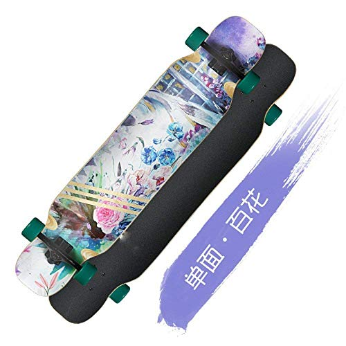 Oudan Female Pennello E Skateboard Edition Long Campus Dimensione Girl G colore Board Beginner Youth Skateboard Street Travel Adult Growth qRrX4ERx
