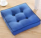 DADAO Seat Cushions for Office Chairs Square Thicken- Conforms to Your Body - 5cm Thick-T 45x45cm(18x18inch)