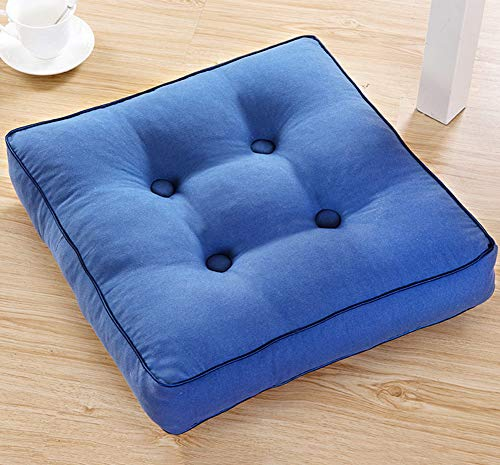 DADAO Seat Cushions for Office Chairs Square Thicken- Conforms to Your Body - 5cm Thick-T 45x45cm(18x18inch) by DADAO