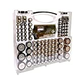 Battery Pro Organizer and Tester, Wall-Mount