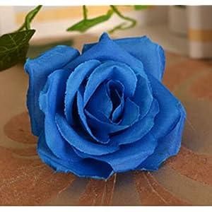 Aimeart Wedding Decoration Photo Booth 13 Tough Silk Cloth Flowers, Dark Blue 39