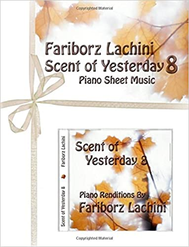 Book Scent of Yesterday 8: Piano Sheet Music