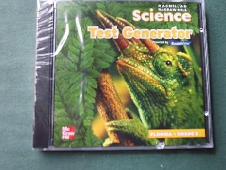 Workbook customizable handwriting worksheets : Amazon.com: Macmillan McGraw-Hill Science Test Generator Grade 5 ...