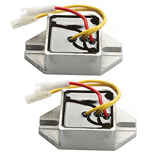 Harbot Pack of 2 Voltage Regulator for Briggs & Stratton 845907 394890 797375 393374 691185 Lawn Mover Tractor ()