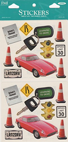 - Learning to Drive Scrapbook Stickers (2110-311)