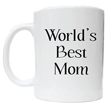 Awesome Graphics Worlds Best Mom White Ceramic Coffee Cup Kitchen