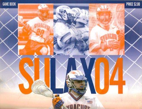 Syracuse University Lacrosse Game Program, 2004 Army Game ()
