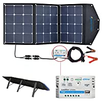 ACOPOWER 12V 105W Foldable Solar Panel K...