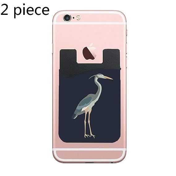Amazon com: ZninesOnhOLD Two Heron Cell Phone Stick On