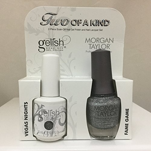 Gelish Core Duo Vegas Nights and Fame Game Nail Polish