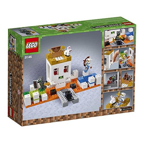 51Rzwdh8hbL - LEGO Minecraft The Skull Arena 21145 Building Kit (198 Piece)