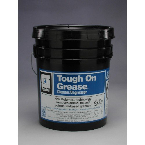 Spartan Tough on Grease Industrial Cleaner/Degreaser, 5 gal Pail by SPARTAN