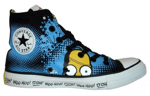 4eedb0aa2b82 Converse CT Hi The Simpsons Collection Homer Simpson All Star Sneaker