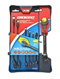 Crescent Brand CX6RWS7 7 Pc. X6 SAE Open End Ratcheting Wrench Set